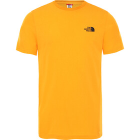 The North Face Simple Dome T-shirt Heren, summit gold